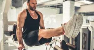 Leg lifts tone abs