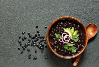 Black Beans top 5 food that burns belly