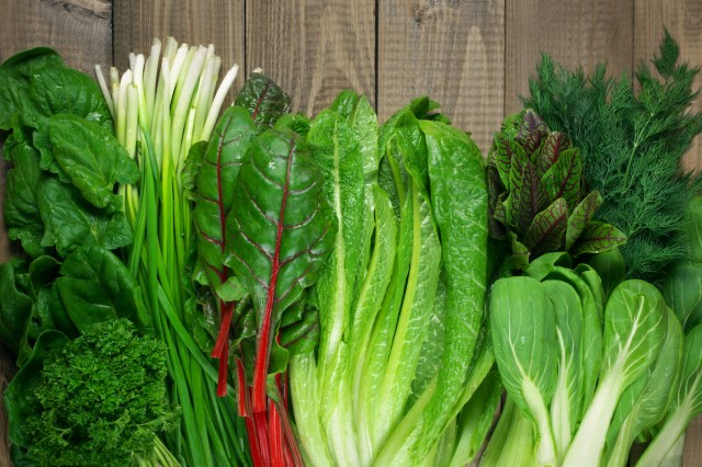 green leafy vegetables top 5 food that burns belly