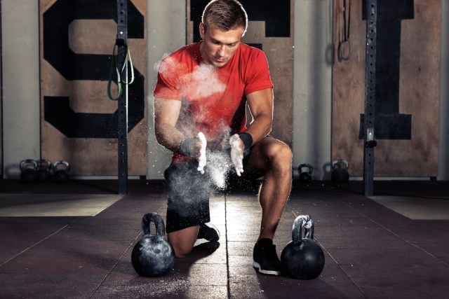 Fat Burning Exercises lose weight with kettlebell