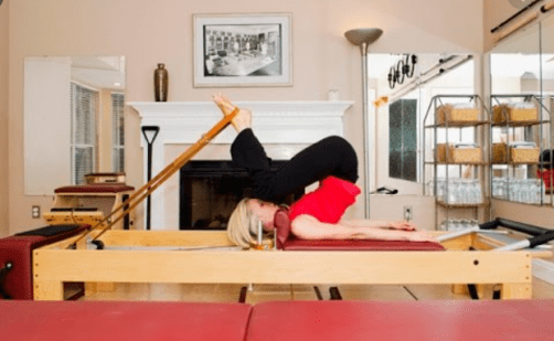 Reformer Pilates - the frog