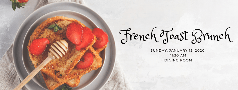 French Toast Brunch 2020