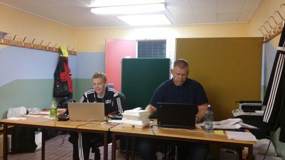 Skandia cup Sigurd Harby og Pål Sarheim