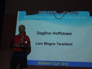 Dagfinn Hoffstrøm 30 år på Norway Cup