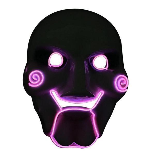 El Wire Halloween Mask Jigsaw Scary Killer Theme