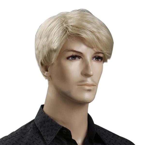 Men Blonde Wig Free Videos