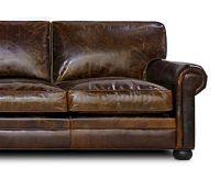 Sedona (lancaster) Oversized Seating Leather Sofa & Set