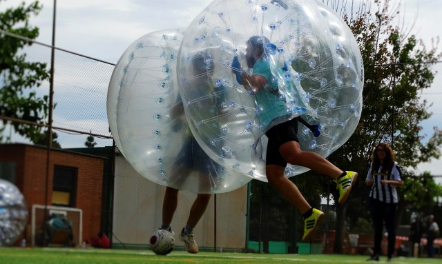Bubble Football en Tenerife!
