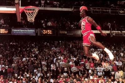 Michael Jordan Dunking