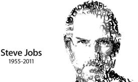 steve jobs typography