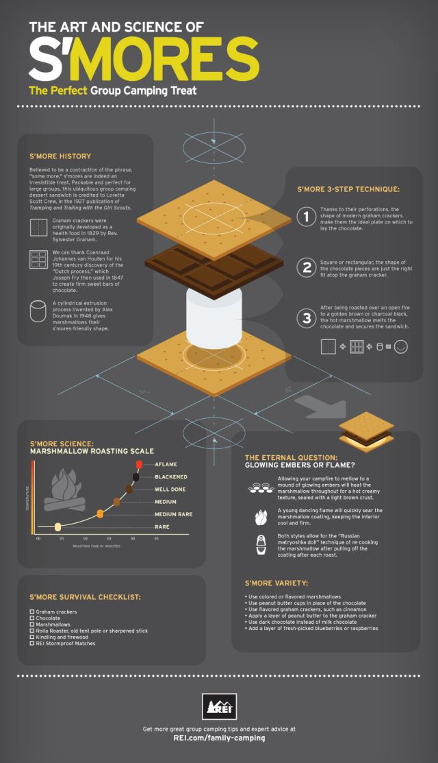 The Art and Science of S'mores