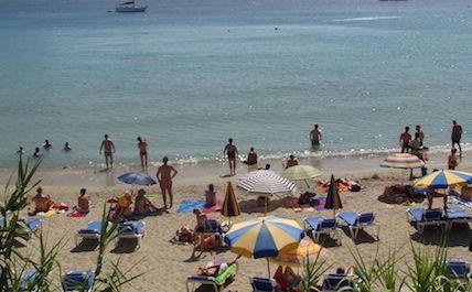 Ibiza tourists