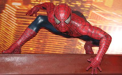 Spider-Man stance