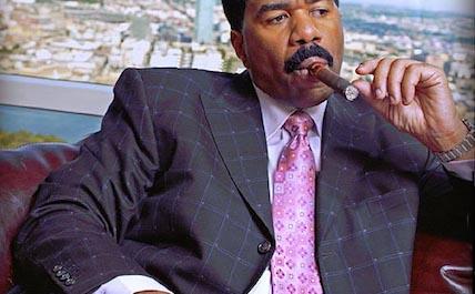 Steve Harvey cigar