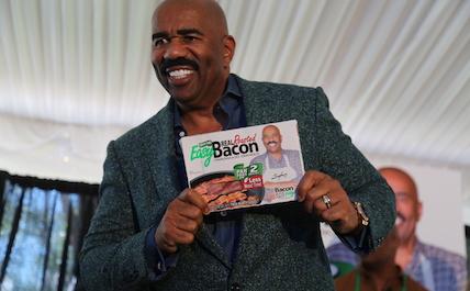 Steve Harvey bacon