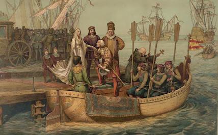 Christopher Columbus travel