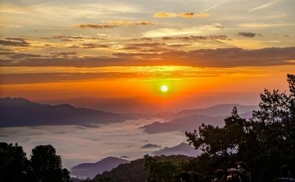 Chiang Mai sunrise