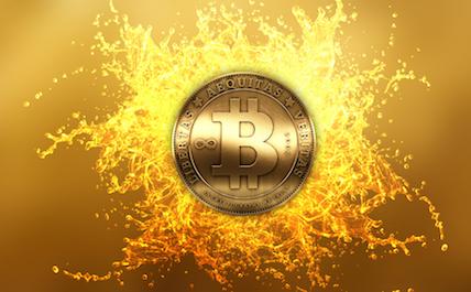 Bitcoin splash