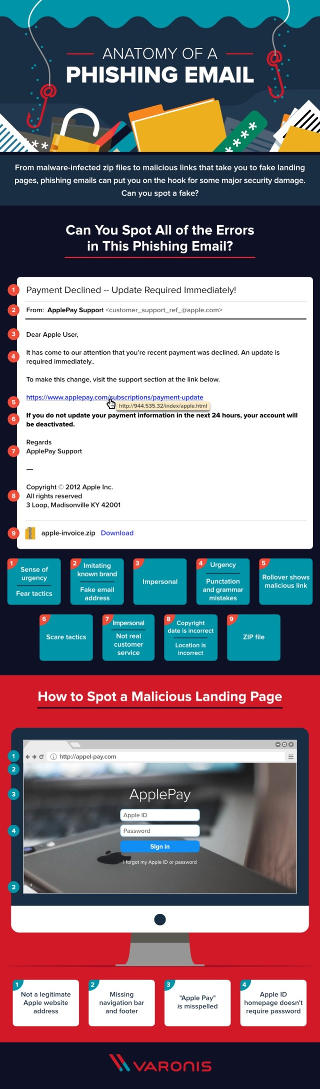 Anatomy Phishing info