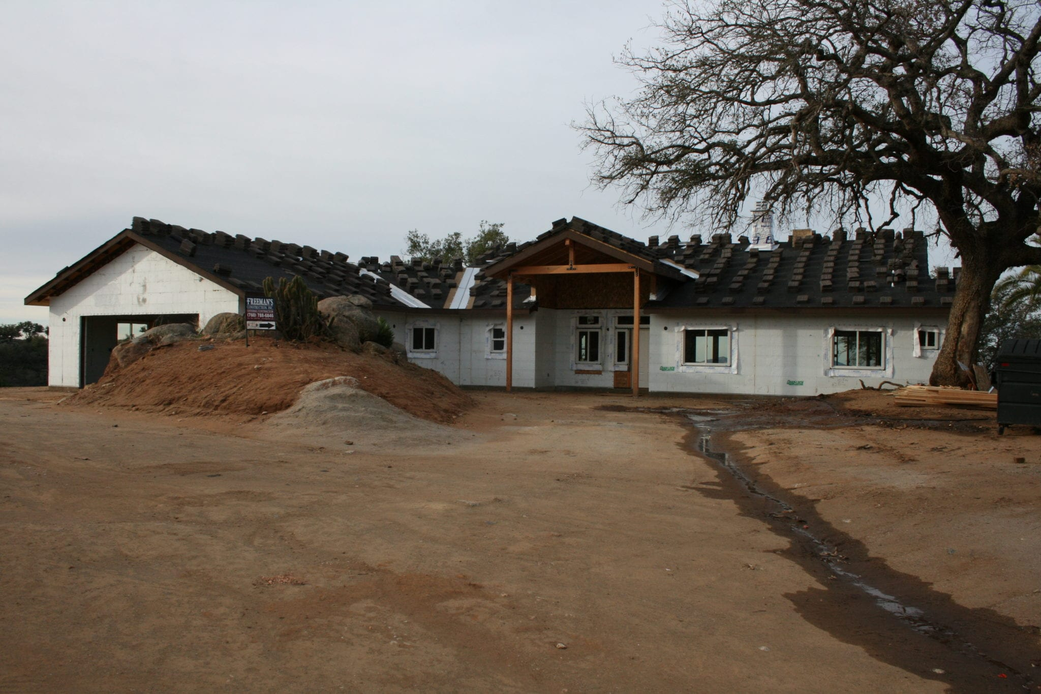 Ranch-ICF-Construction-Custom-Home-in-Ramona-CA-by-Freemans-Construction-Inc