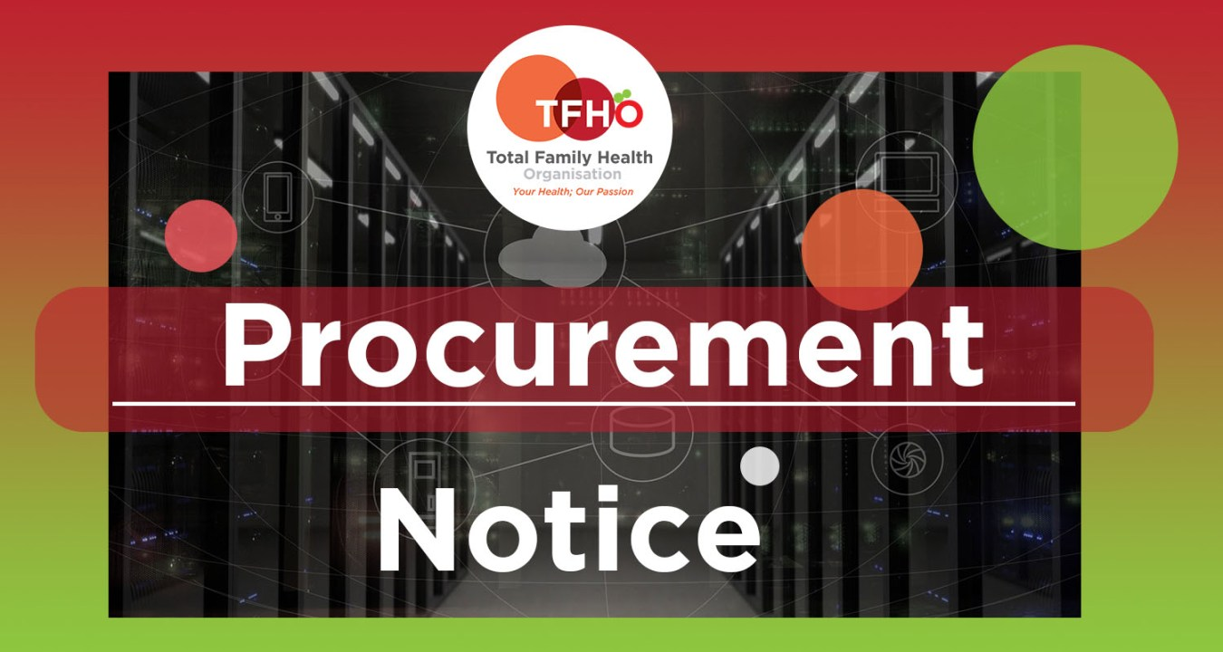 TFHO Procurement Notice 2