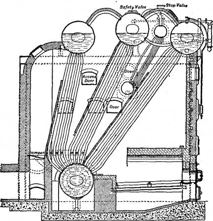 Reciprocating Engine Diagram