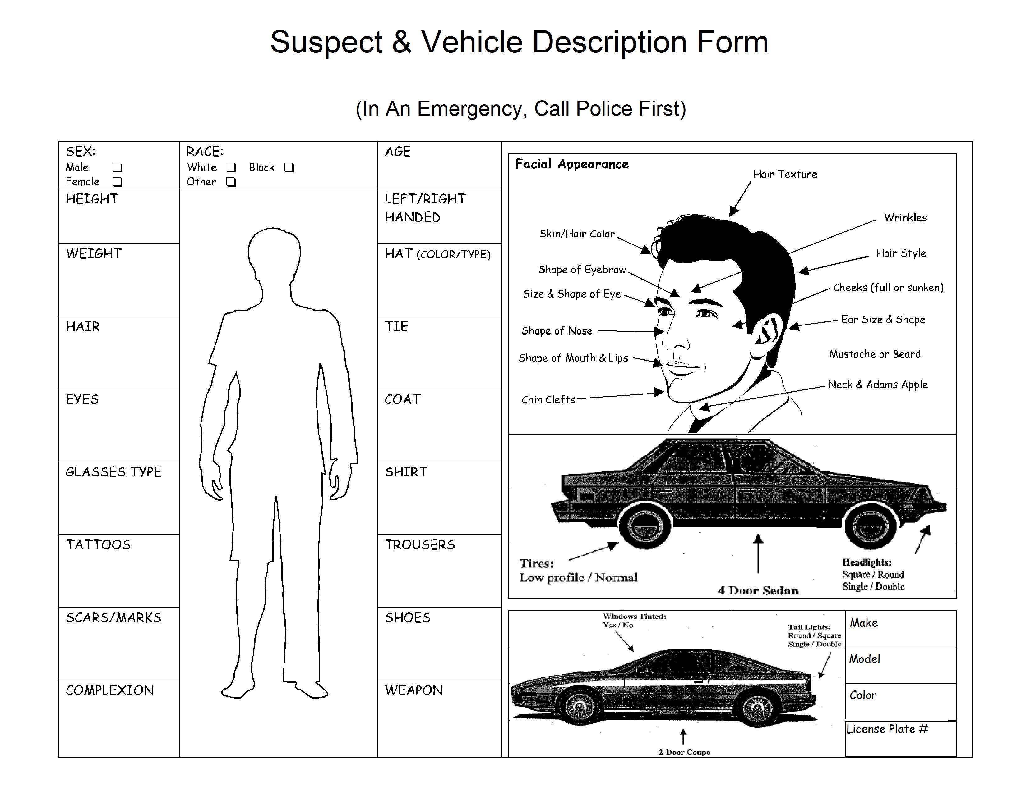 police department wiring diagram