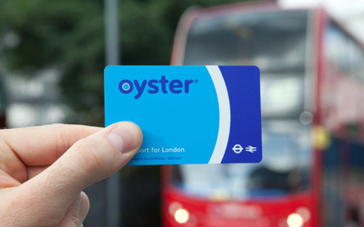 Getting around London | Oyster card