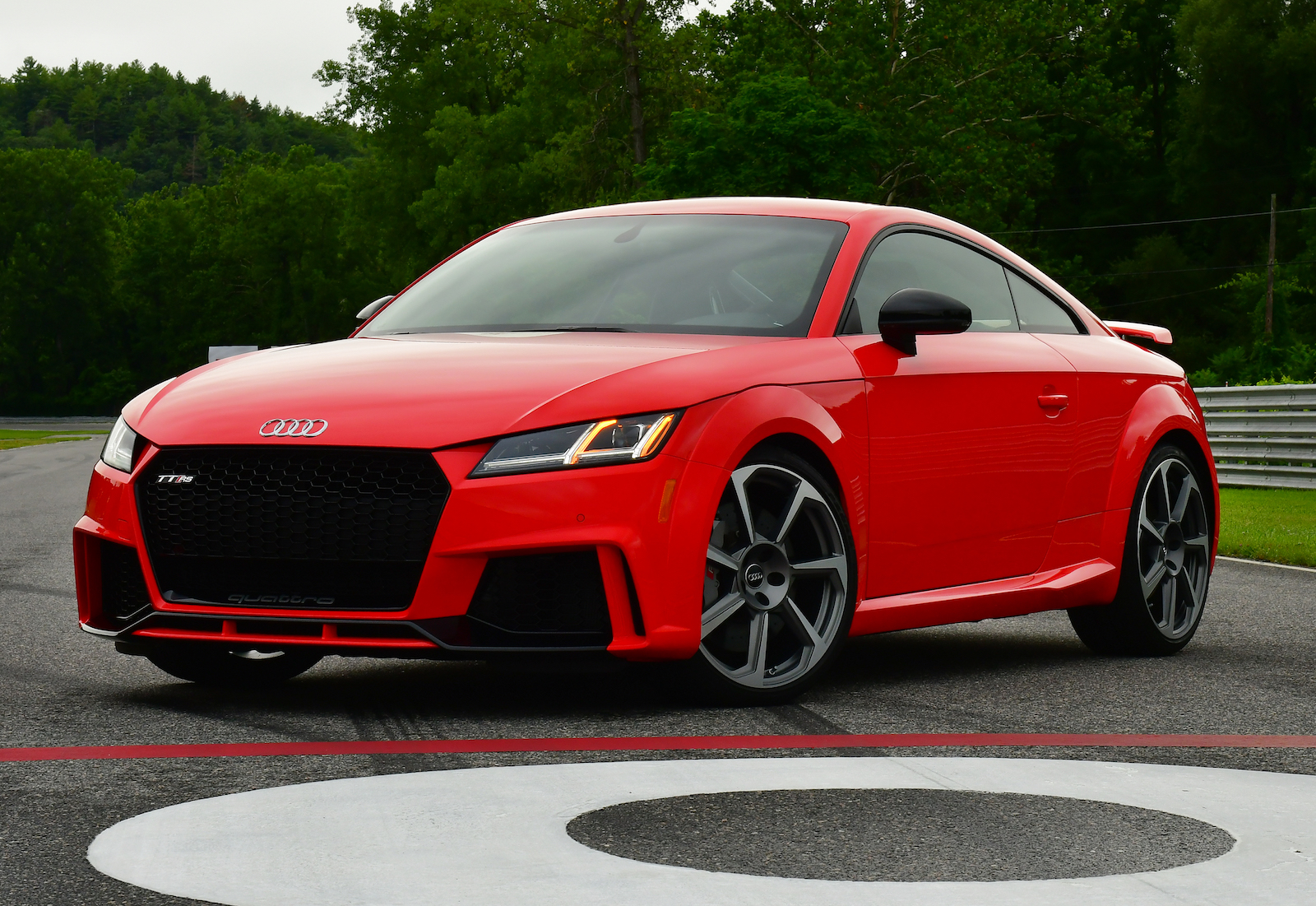 2018 Audi Tt Rs Can It Hit 60 In 36 Seconds? [video