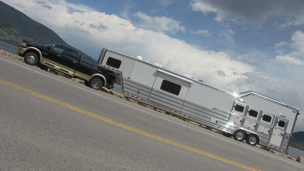 medium resolution of 2013 ram 3500 heavy duty pickup takes on the ike gauntlet towing test