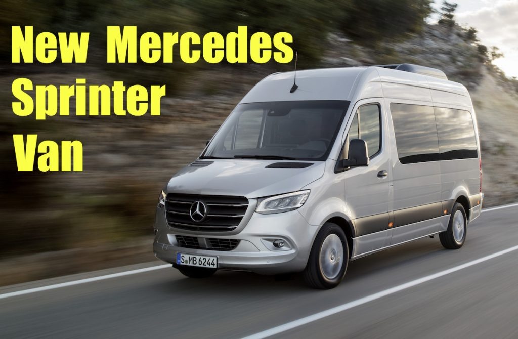 New 2019 Mercedes Sprinter More Cargo, More Options, And
