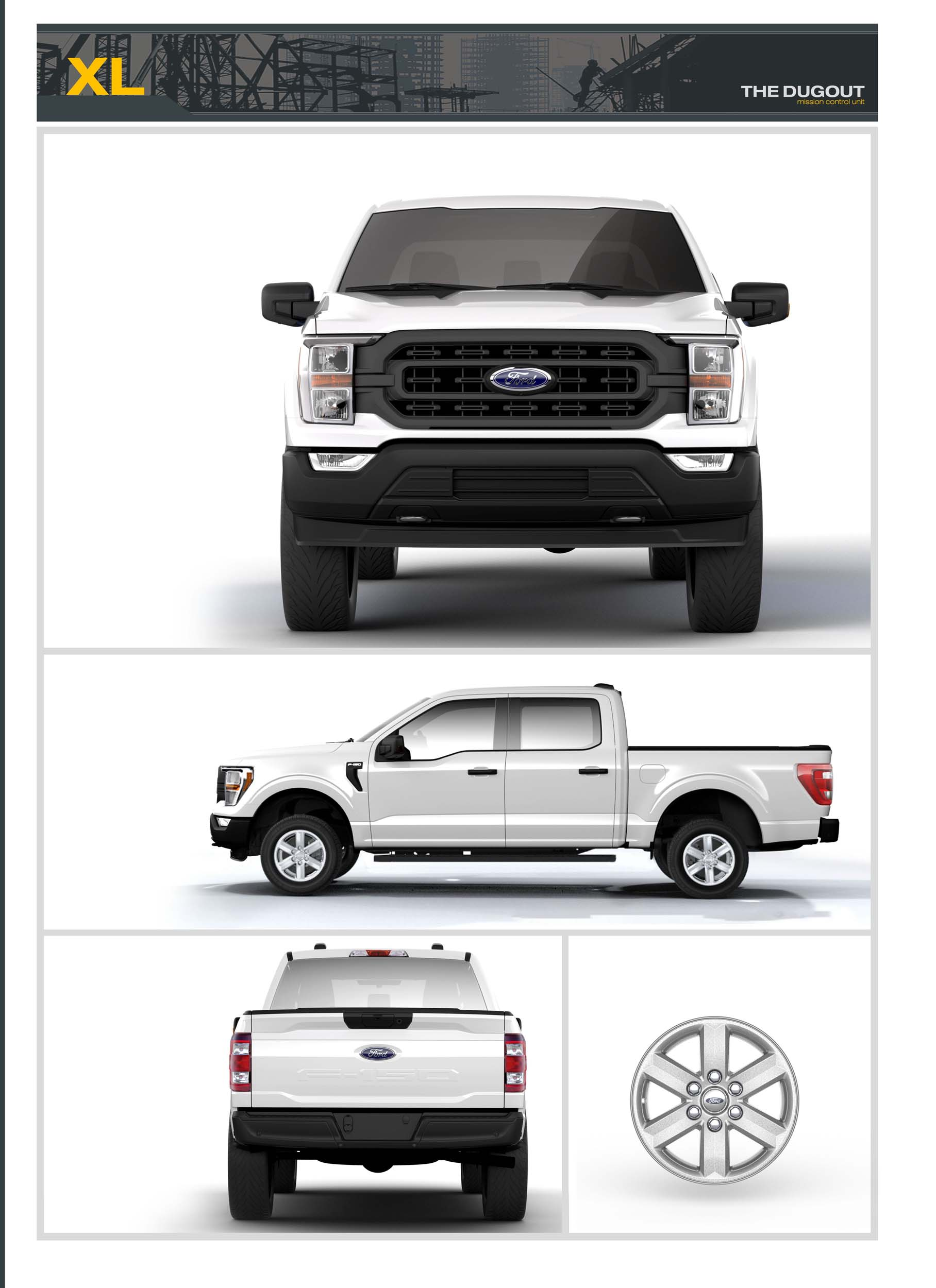 Ford F 150 Ecoboost 0 60 : ecoboost, 2021-ford-F-150-XL-Dugout, Truck