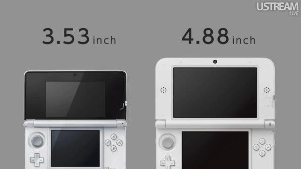 Nintendo announces 3DS LL, 4.88-inch top 3D screen, and longer battery life | TFMicck4U