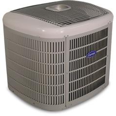 Carrier Infinity series heat pump.