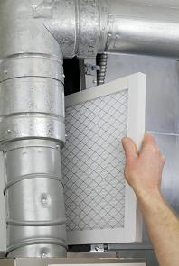 changing the furnace filter, Long Island, New York