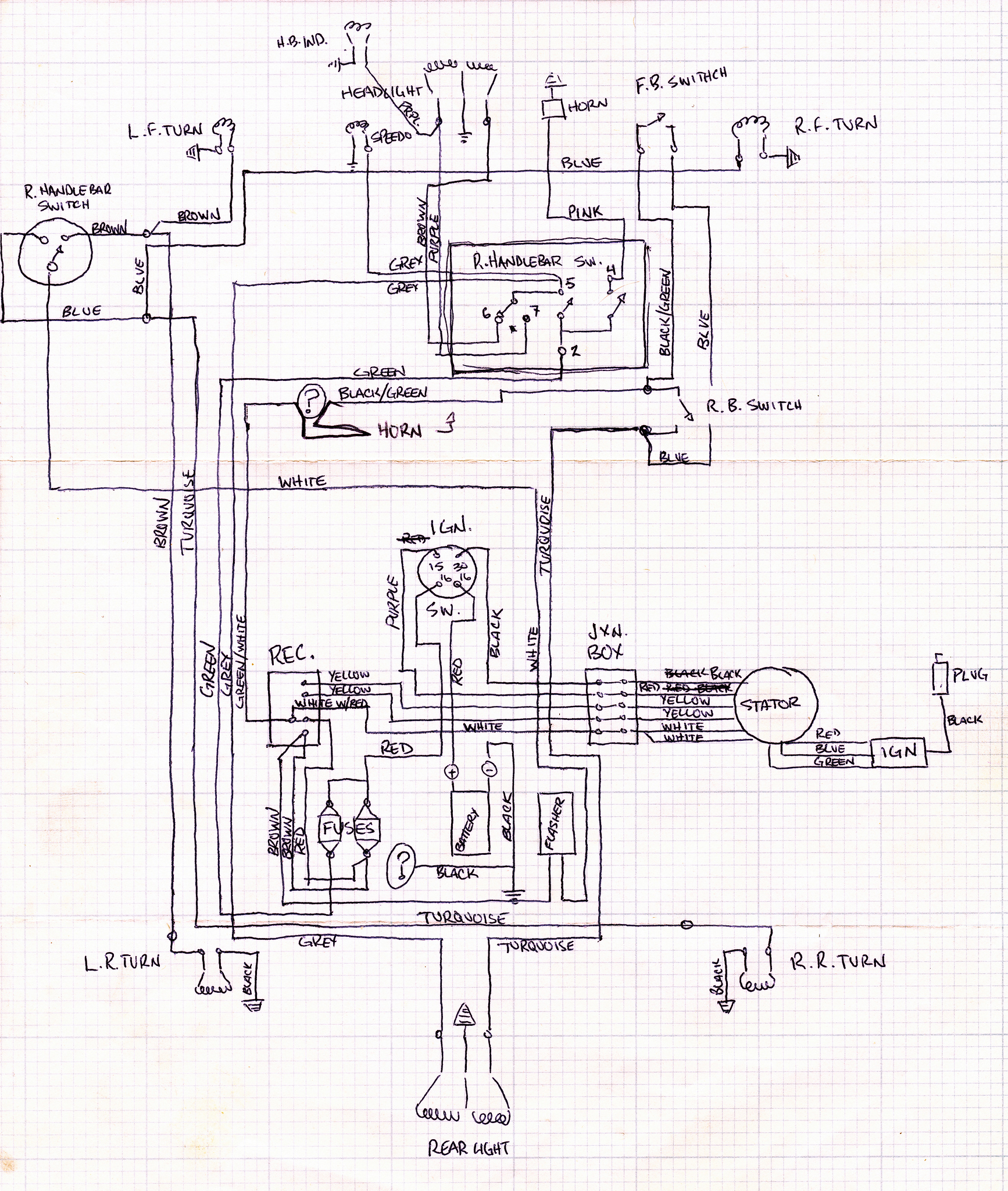 Likewise Yamaha Blaster Wiring Diagram On Xr650r Wiring Harness