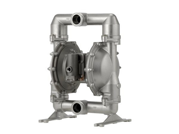 "Aro¨ PM15S-CSS-STT-A02 Expert Series 1 1/2"" Diaphragm Pump With Stainless Steel Centre Section & Body (316 Stainless Steel Seats"