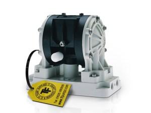"""Graco¨ D22096 Huskyª 1/4"""" Diaphragm Pump With Polypropylene Centre Section & Body (Poppet Valves"""