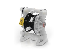 "Graco¨ D52A16 Huskyª 1/2"" Diaphragm Pump With Polypropylene Centre Section & Body (PVDF Seats"