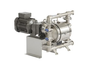 25C126 -  Huskyª Saniforce¨ 1040T Electric FDA compliant pump with Stainless Steel Centre Section