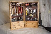 Wooden Toolbox Design Pieces