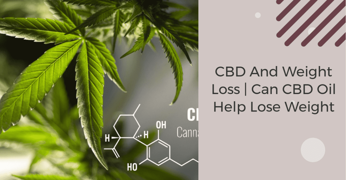 An image of CBD and weight loss