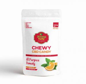 An image of CBD Taffy – Orange Mint Zest CBD Edibles