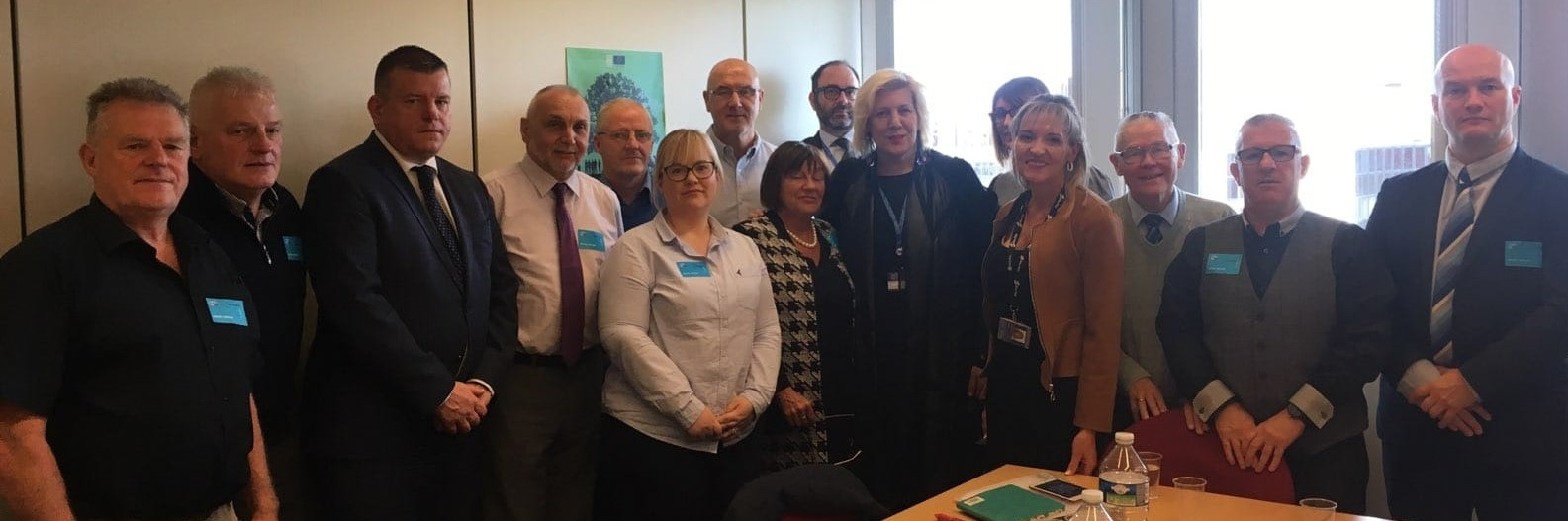 Family representatives of the Time for Truth Campaign meet with the new European Human Rights Commissioner, Dunja Mijatović.