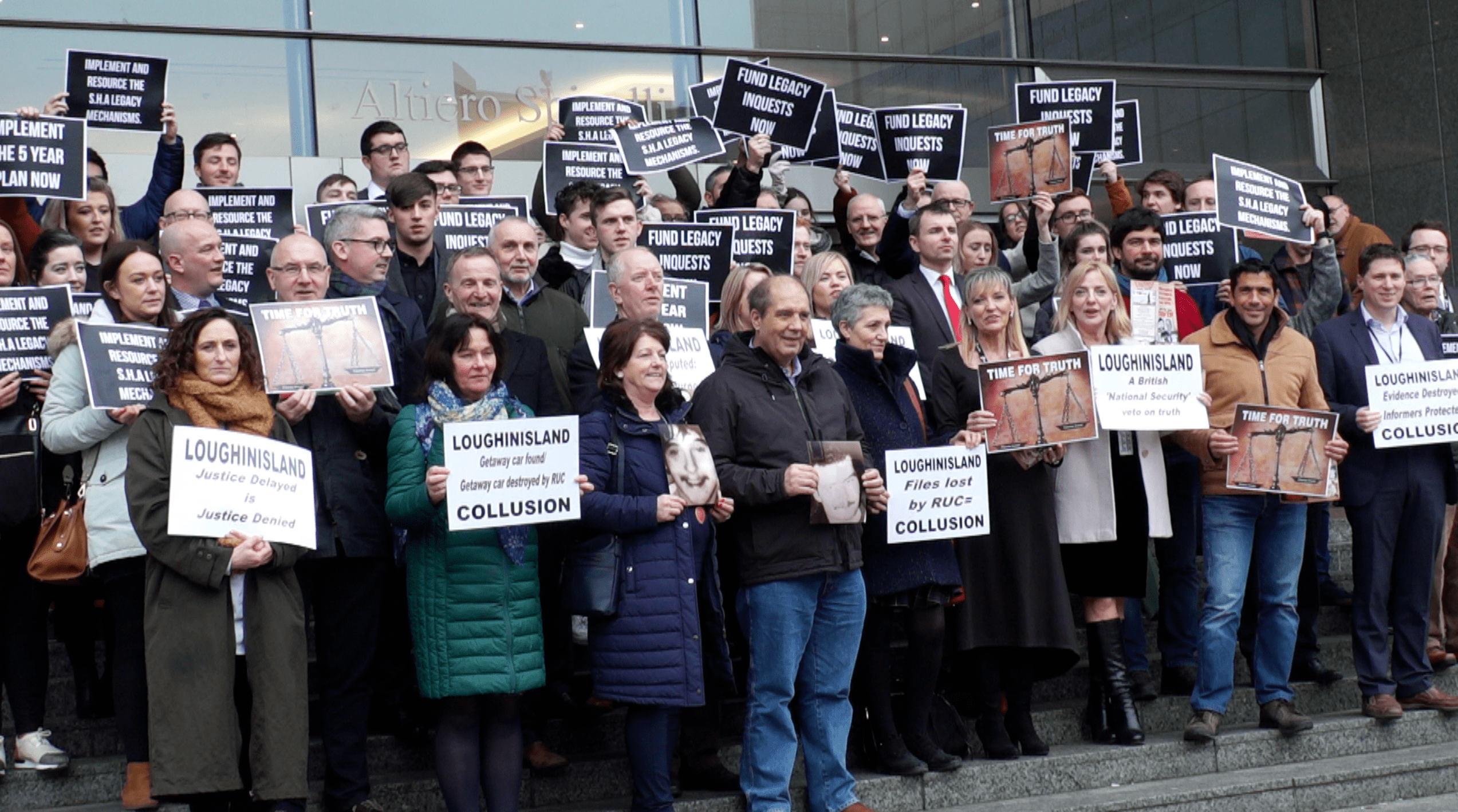 Time for Truth Campaign at European Parliament, Brussels