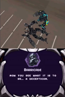 Transformers The Game Screenshot