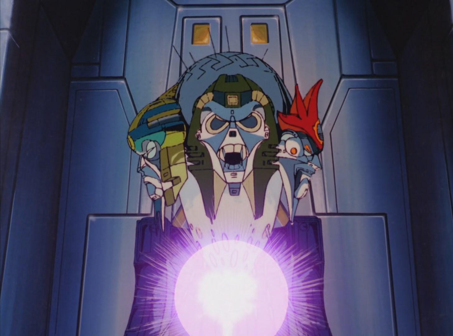 The Quintessons. Malevolent creators of the Transformers.