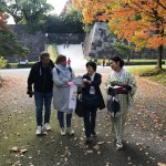 East garden of the Imperial palace welcomed us in a full dressy color (Nov.29, weekday-tour)