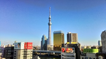 Views from the rooftop of Asakusa Information Center