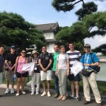 Tour Report on August 31th at the East Gardens of the Imperial Palace